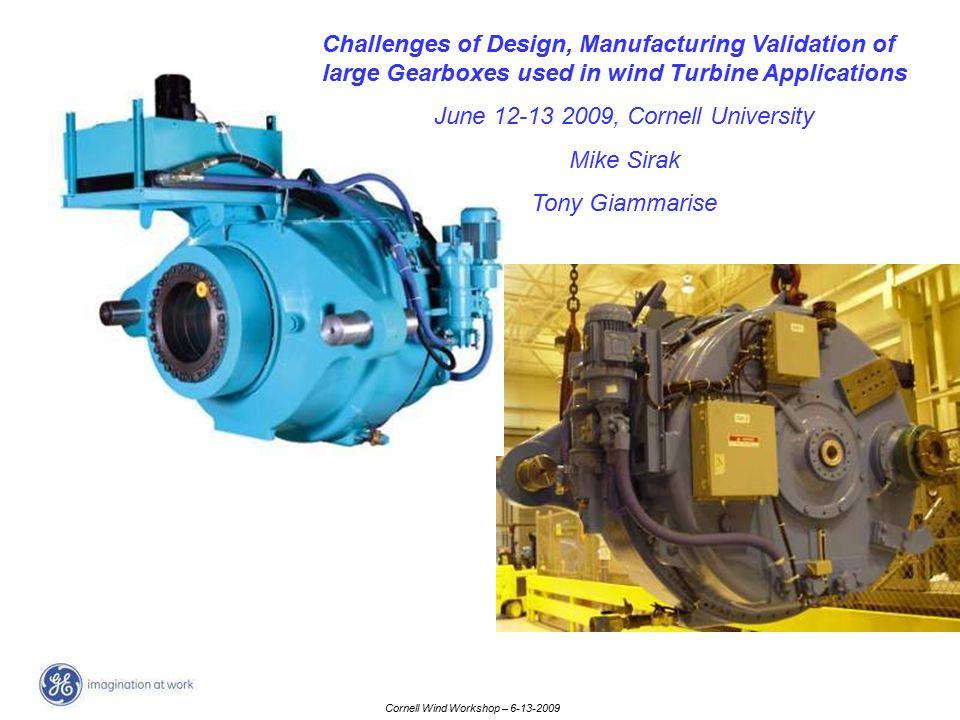 June 12-13 2009, Cornell University