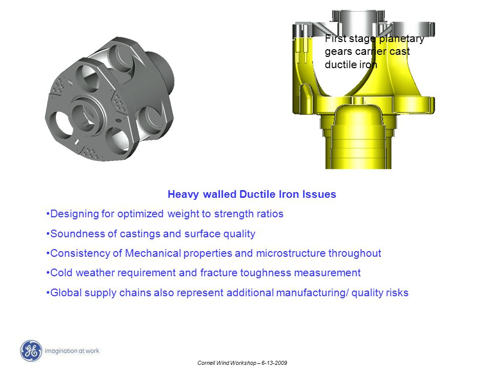 Heavy walled Ductile Iron Issues