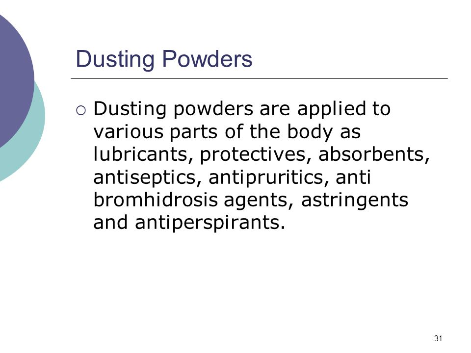 Dusting Powders