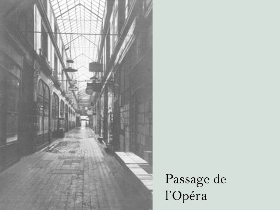 Passage de l'Opéra
