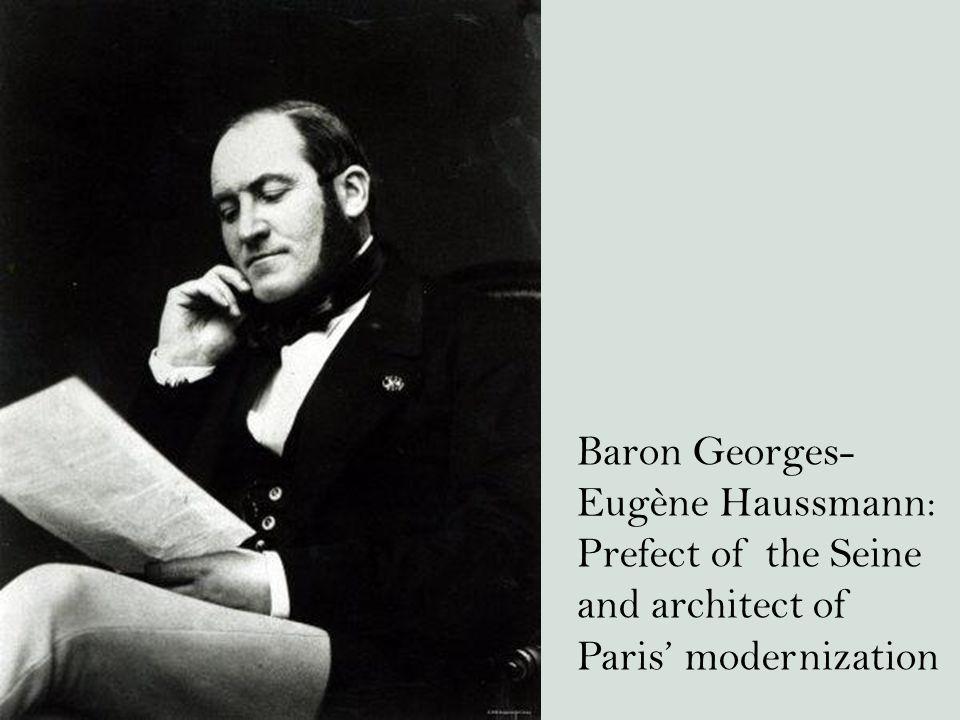 Baron Georges-Eugène Haussmann: