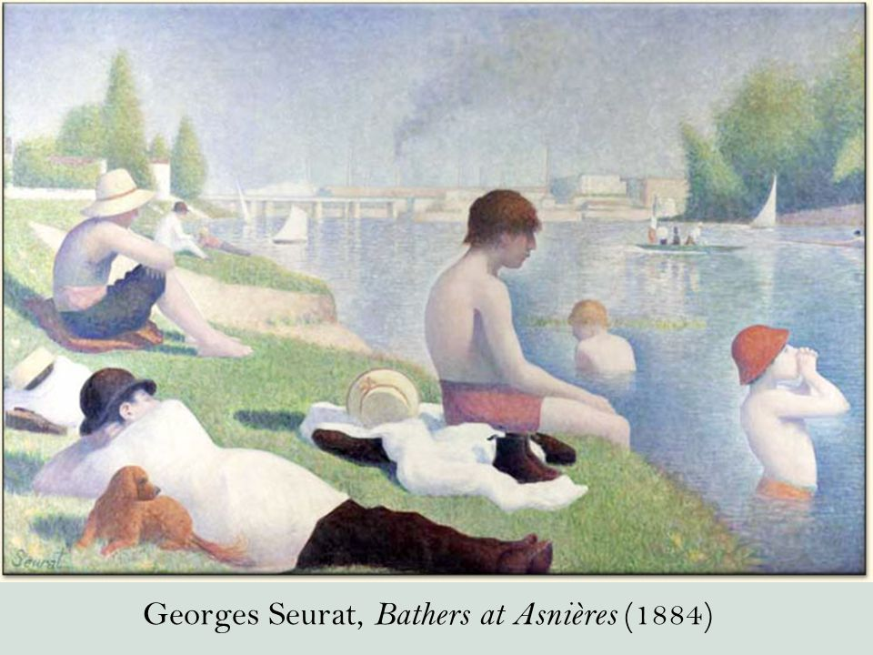 Georges Seurat, Bathers at Asnières (1884)