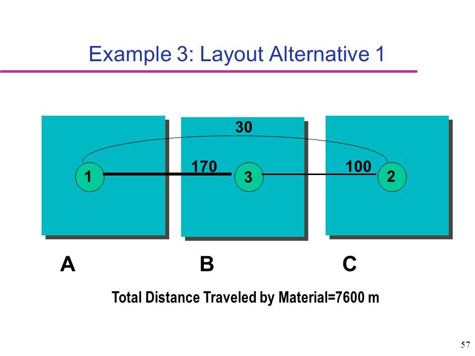 Example 3: Layout Alternative 1