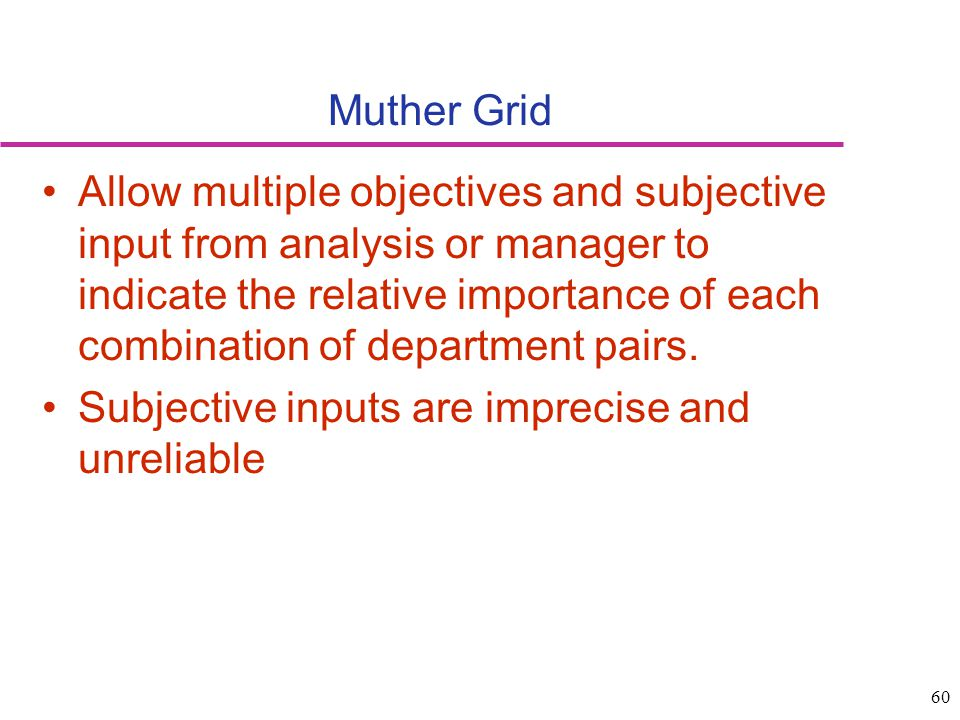 Muther Grid