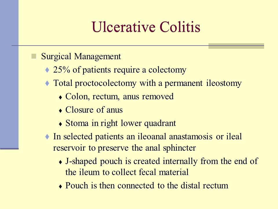 Ulcerative Colitis Surgical Management
