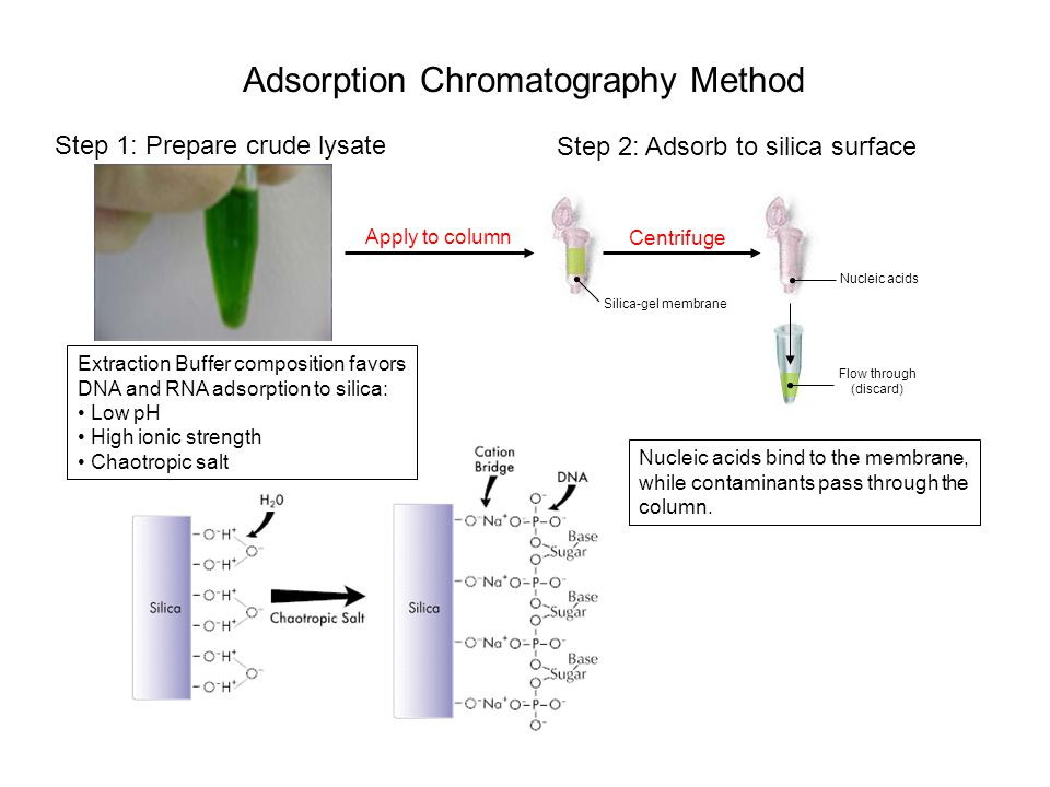 Adsorption Chromatography Method
