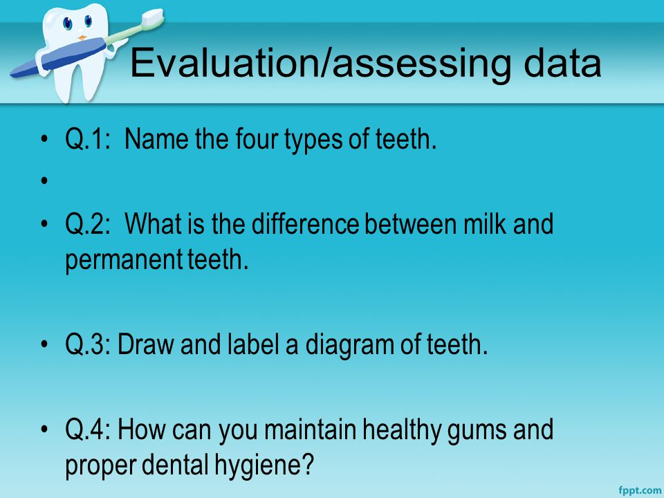 Evaluation/assessing data