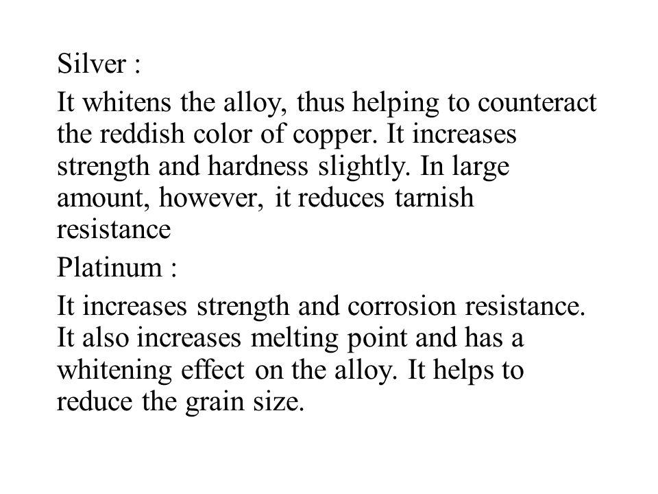 Silver :