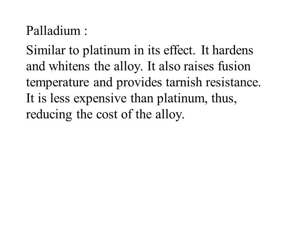 Palladium :