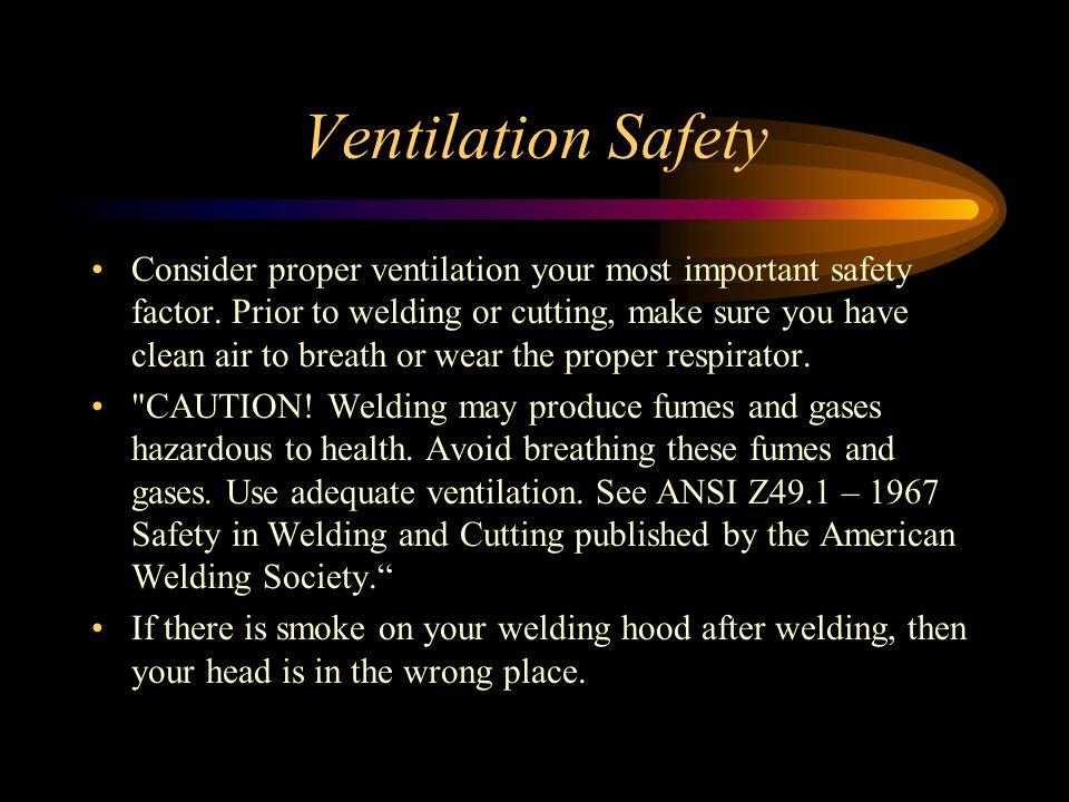 Ventilation Safety