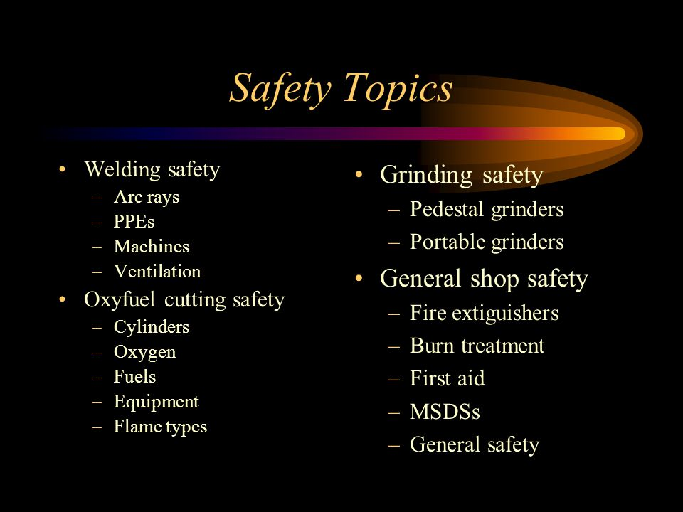 Bench Grinder Safety Scale Part - 37: 2 Safety Topics Grinding ...