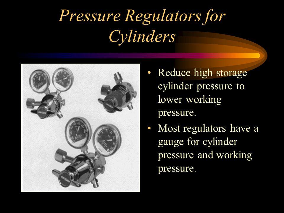 Pressure Regulators for Cylinders