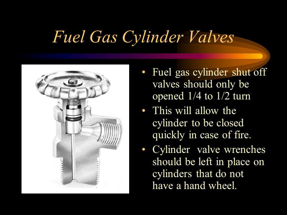 Fuel Gas Cylinder Valves