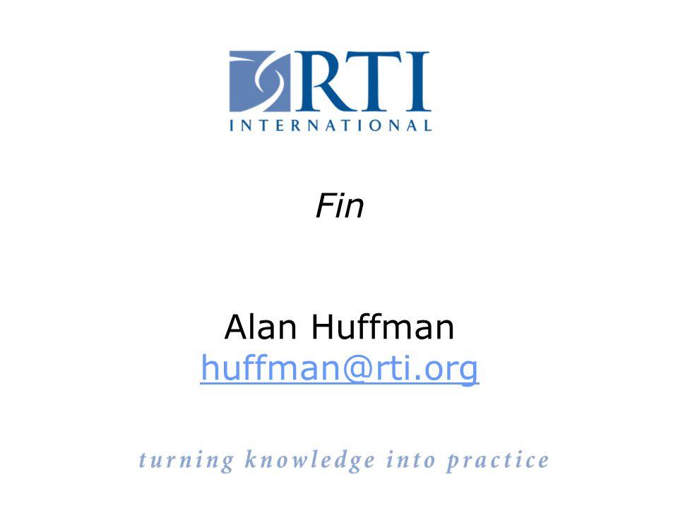 Fin Alan Huffman huffman@rti.org