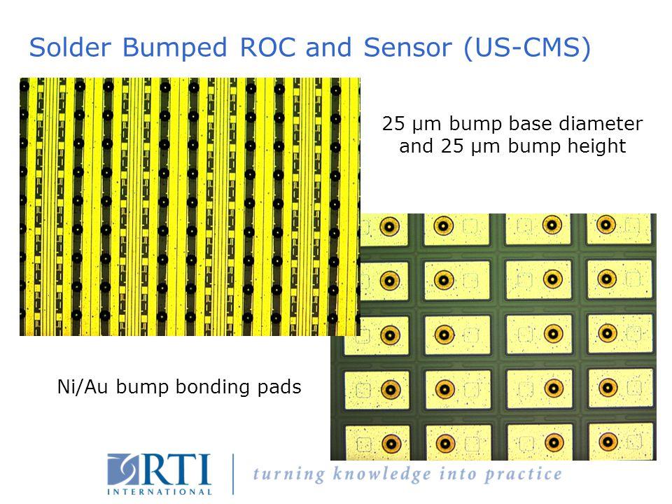 Solder Bumped ROC and Sensor (US-CMS)