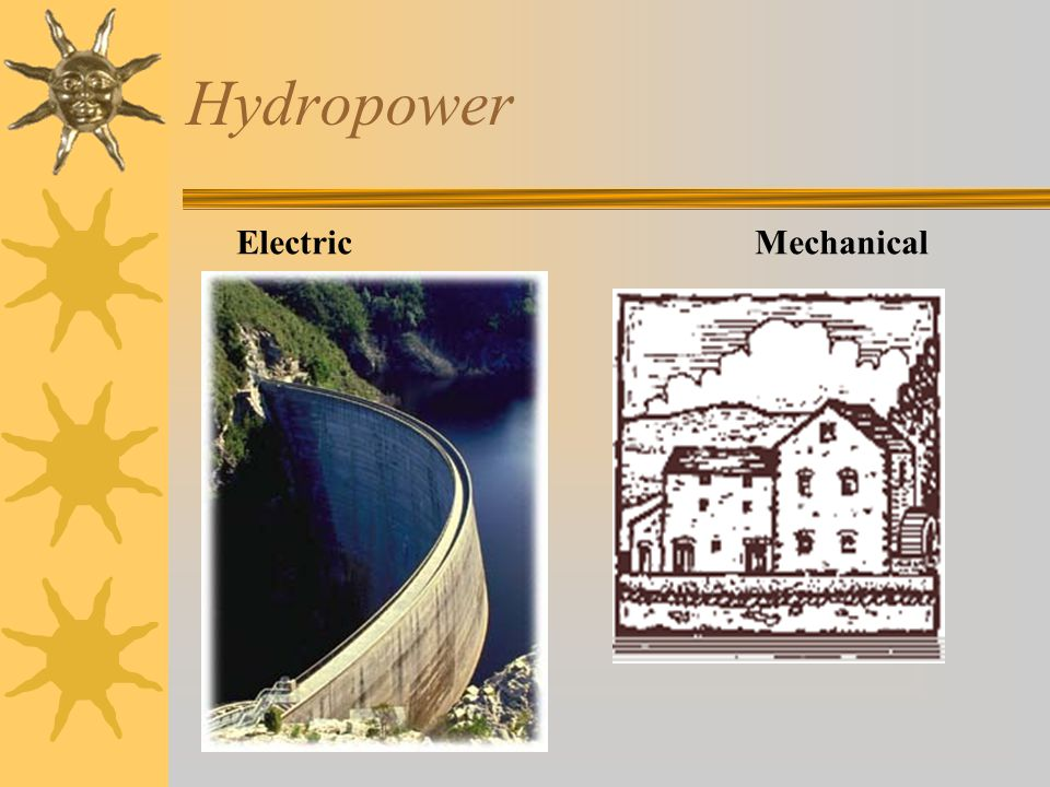 Hydropower Electric Mechanical