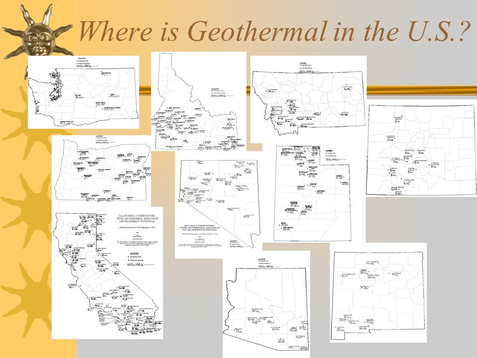 Where is Geothermal in the U.S.