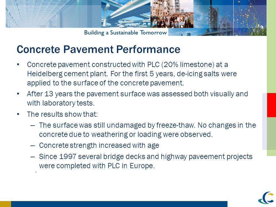 Concrete Pavement Performance