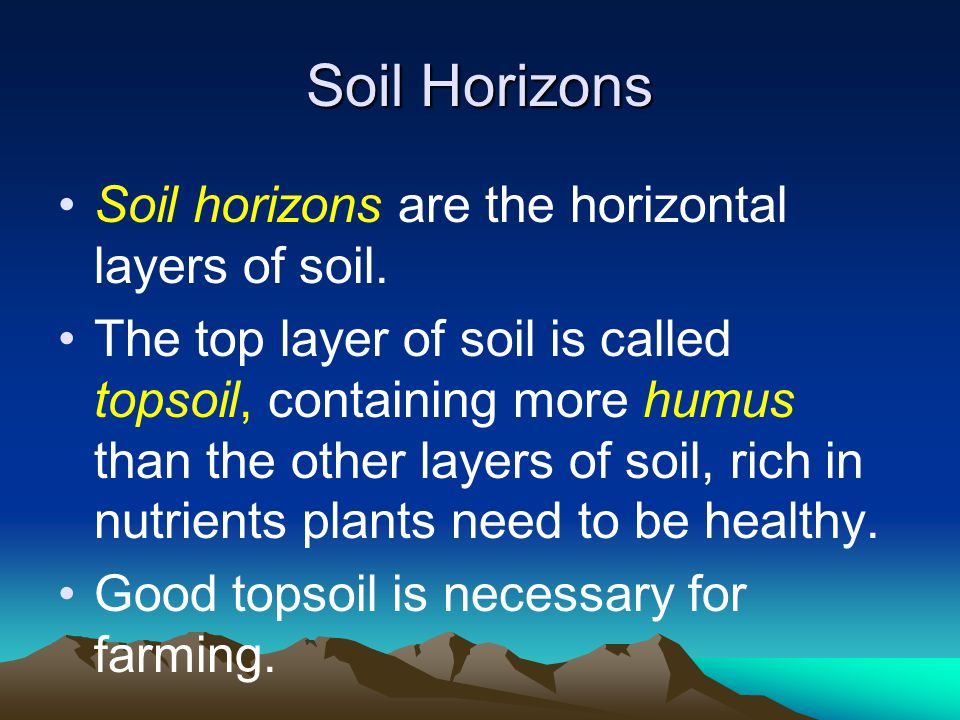 Mechanical weathering ppt video online download for What is rich soil called