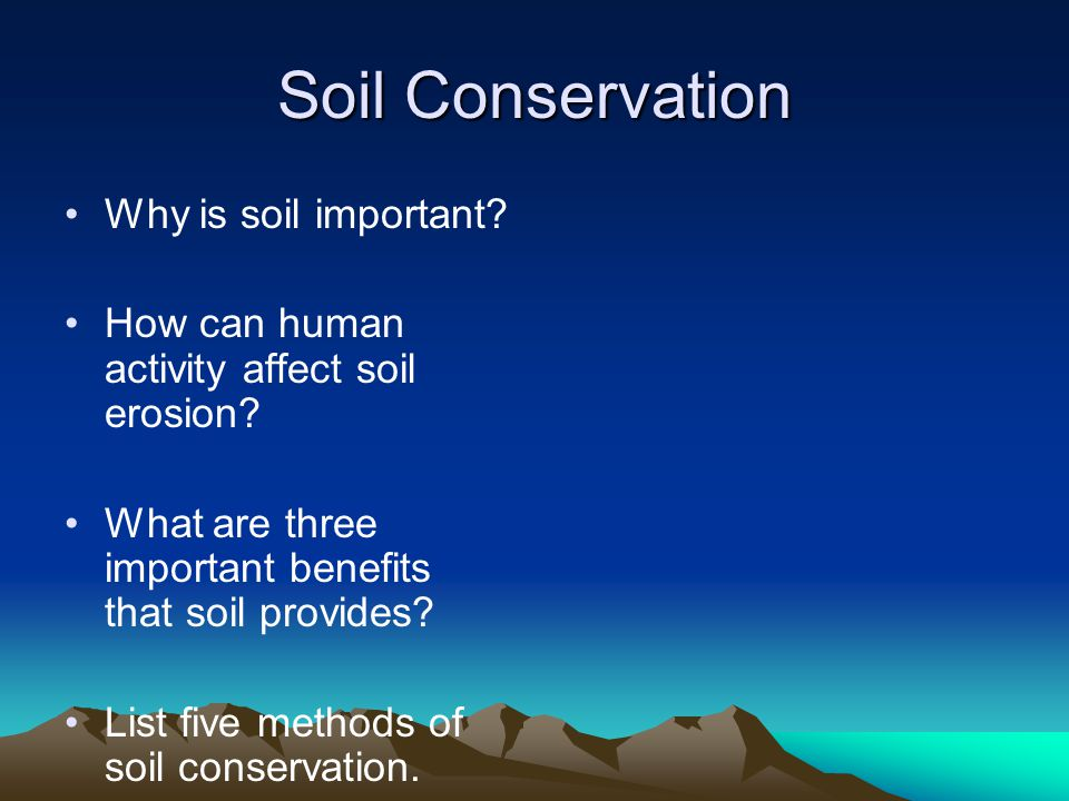Mechanical weathering ppt video online download for What is important to know about soil layers
