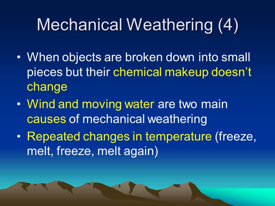 Mechanical Weathering (4)