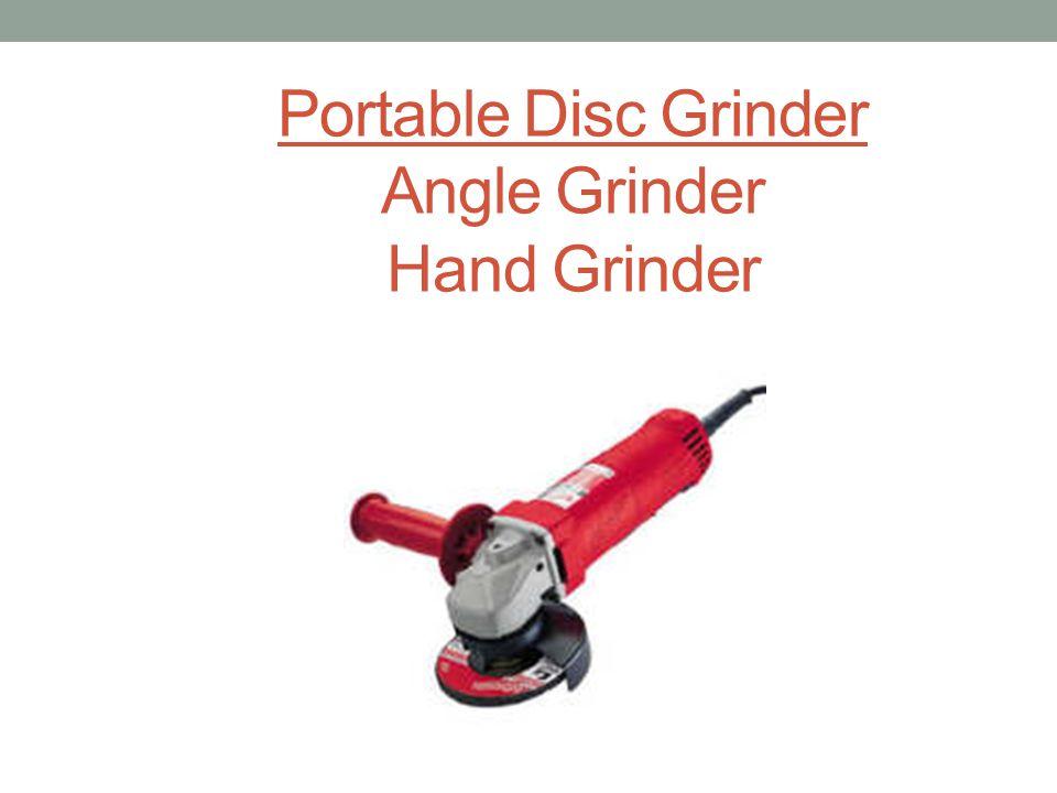 Portable Disc Grinder Angle Grinder Hand Grinder