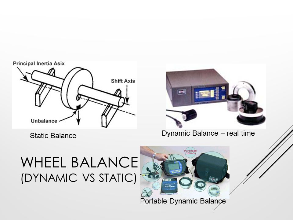 Wheel Balance (Dynamic vs Static)