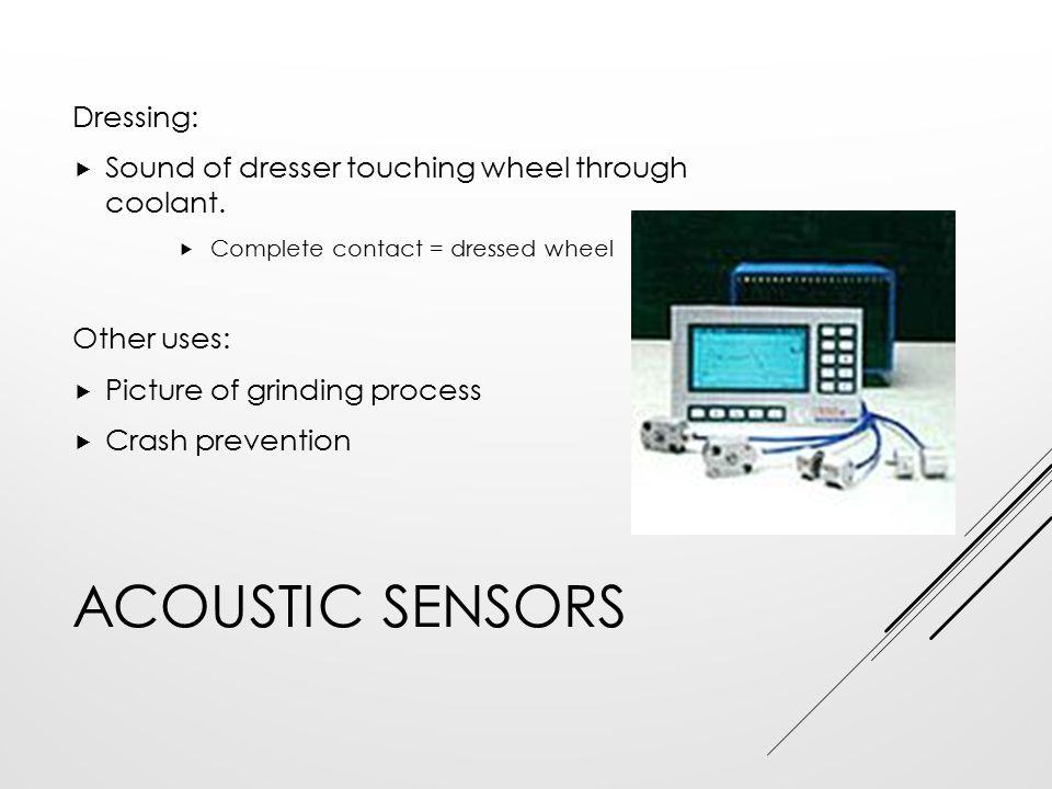 Acoustic Sensors Dressing:
