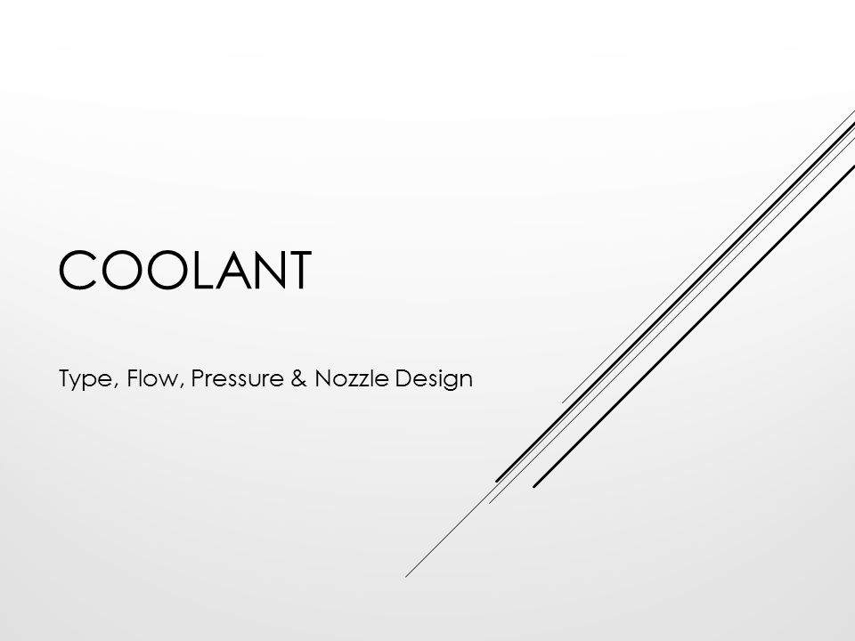 Type, Flow, Pressure & Nozzle Design