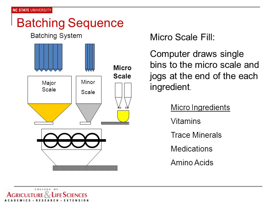 Batching Sequence Micro Scale Fill: