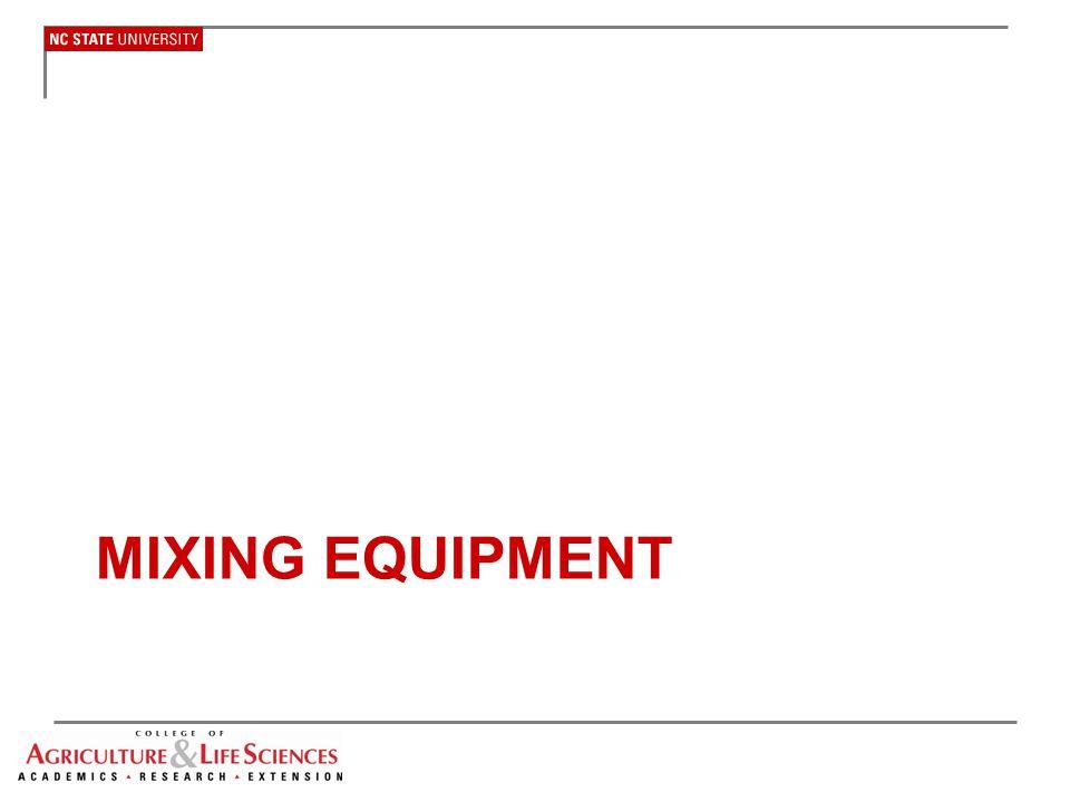 Mixing equipment