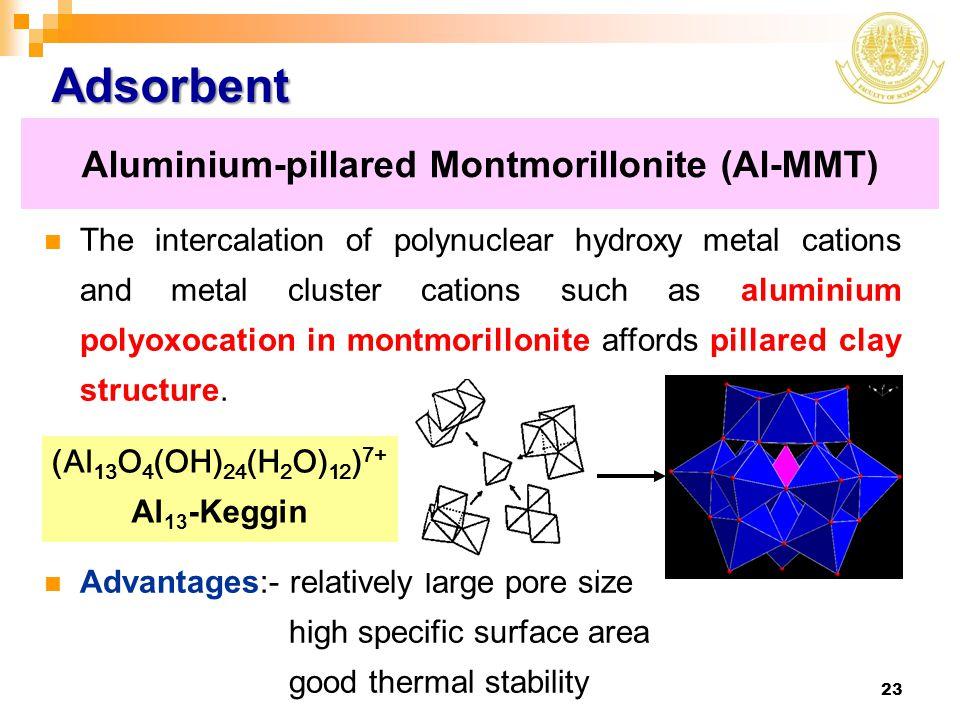 Aluminium-pillared Montmorillonite (Al-MMT)