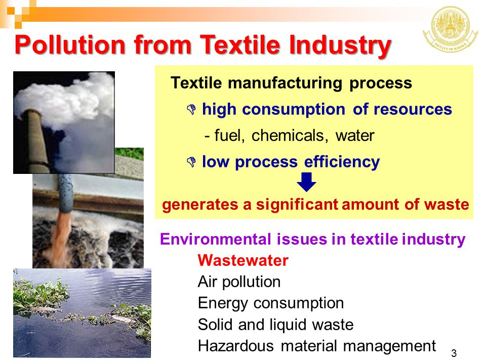 Pollution from Textile Industry