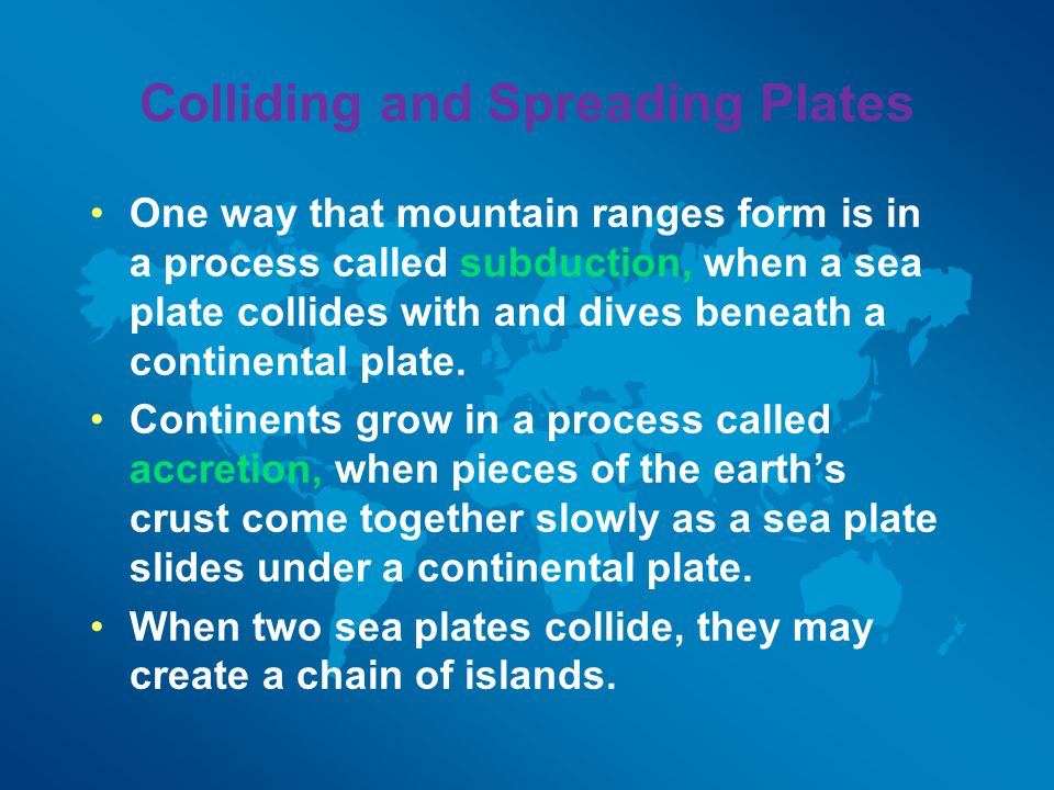 Colliding and Spreading Plates
