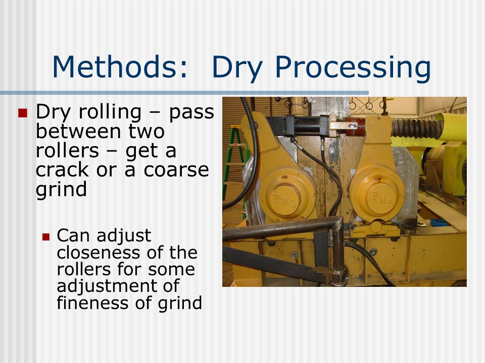 Methods: Dry Processing