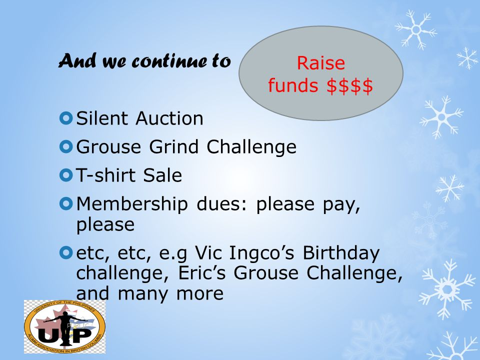 And we continue to Raise funds $$$$ Silent Auction