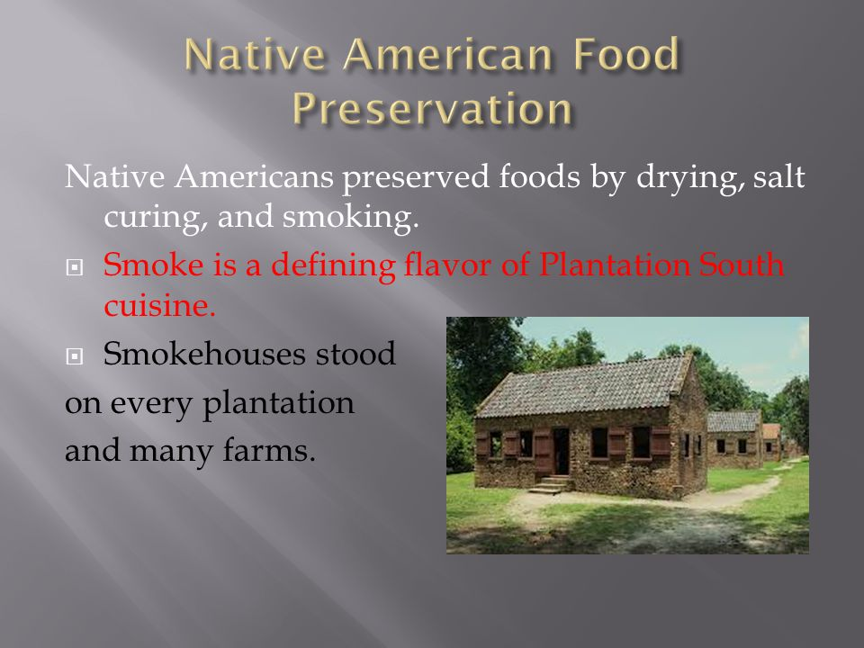 Native American Food Preservation