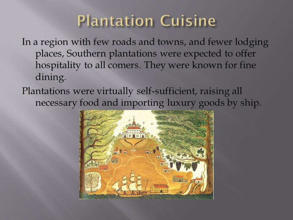 Plantation Cuisine