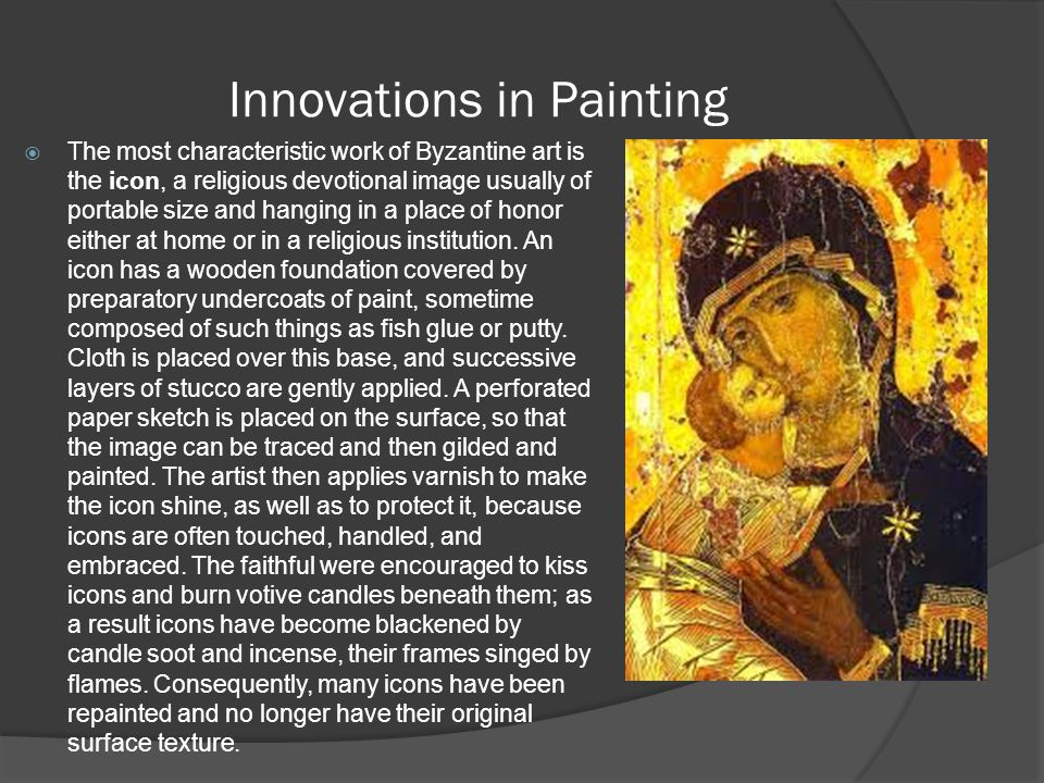 Innovations in Painting