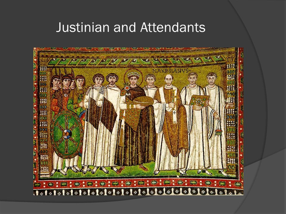 Justinian and Attendants