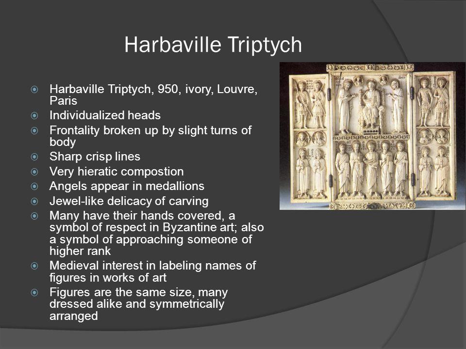 Harbaville Triptych Harbaville Triptych, 950, ivory, Louvre, Paris
