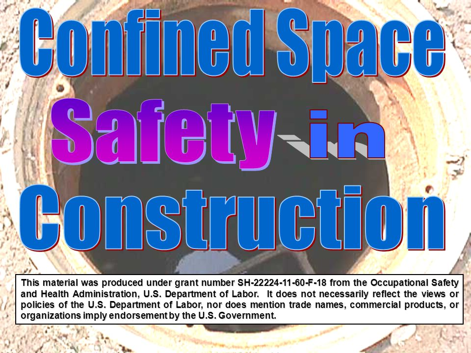 Confined Space Safety in Construction
