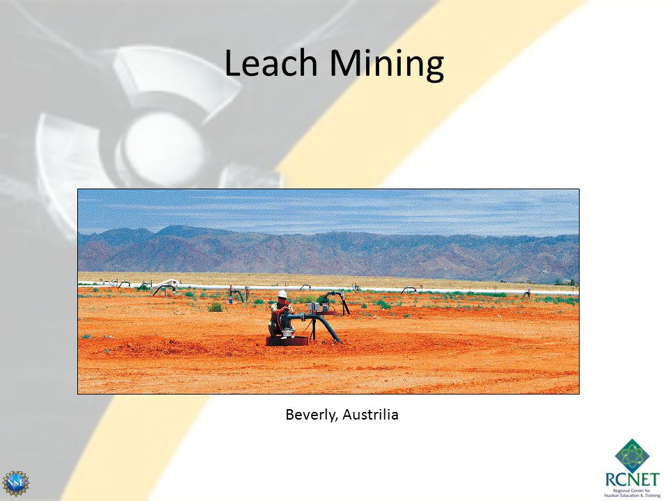 Leach Mining Beverly, Austrilia