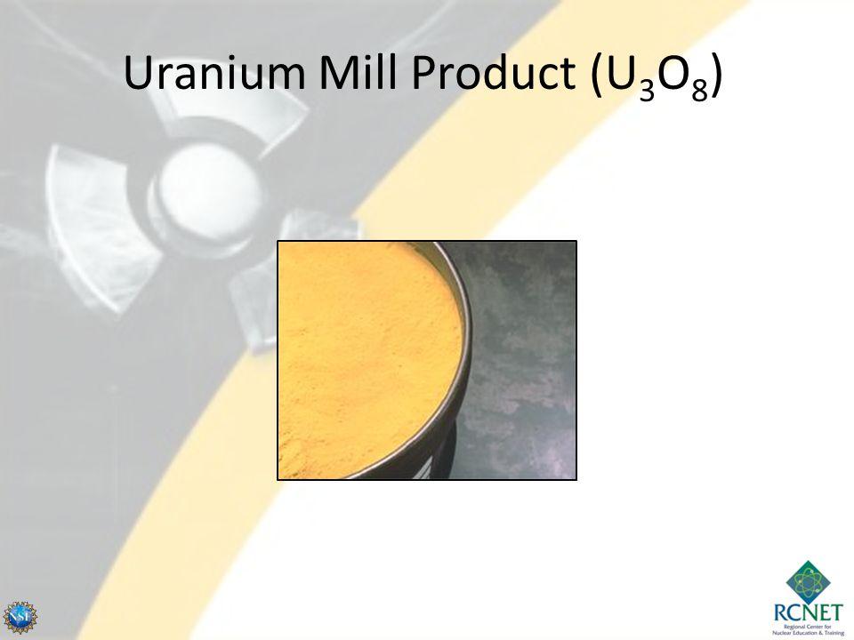 Uranium Mill Product (U3O8)