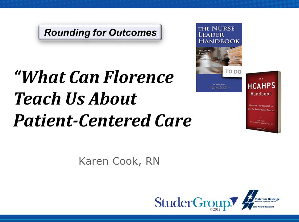 What Can Florence Teach Us About Patient-Centered Care