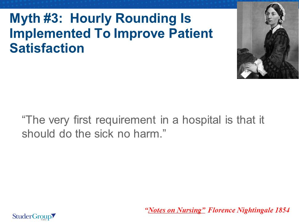 Notes on Nursing Florence Nightingale 1854
