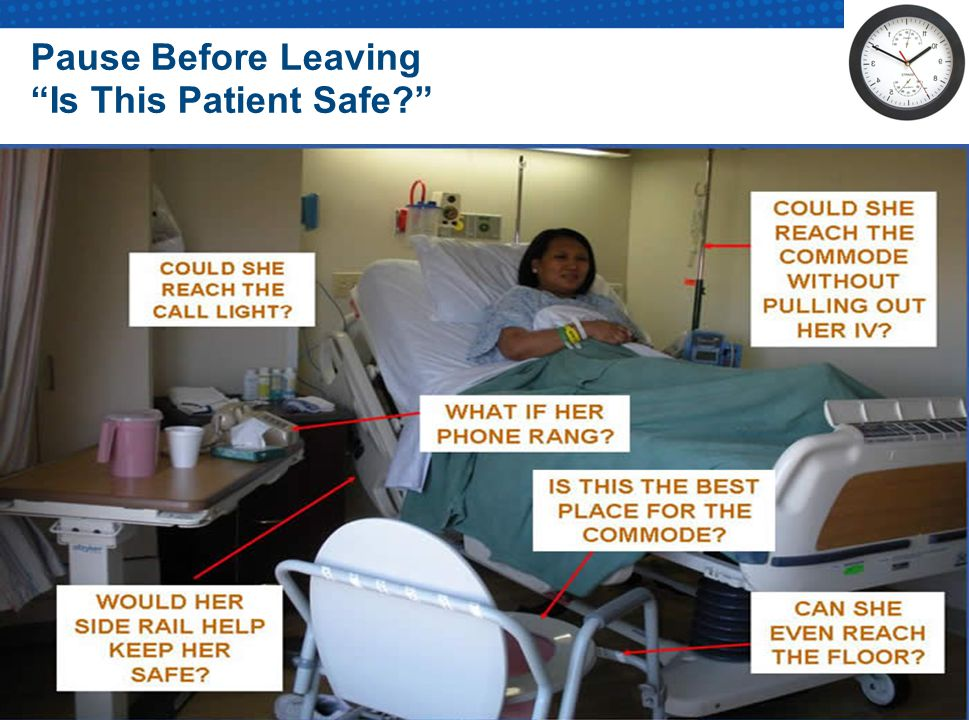 Pause Before Leaving Is This Patient Safe