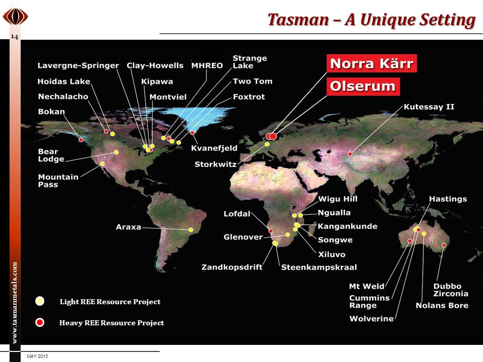 Tasman – A Unique Setting