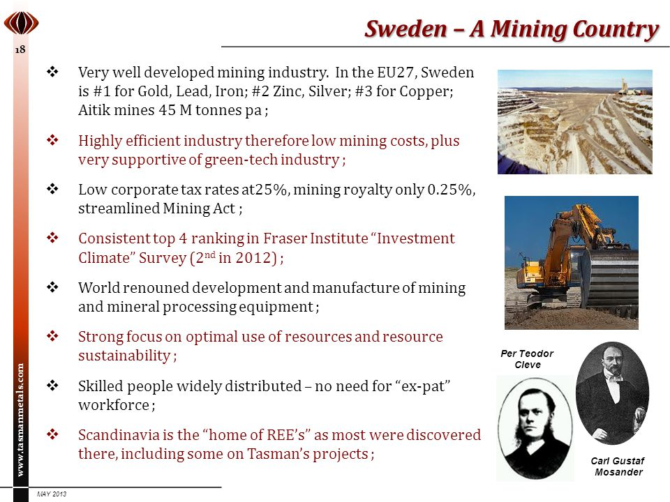 Sweden – A Mining Country