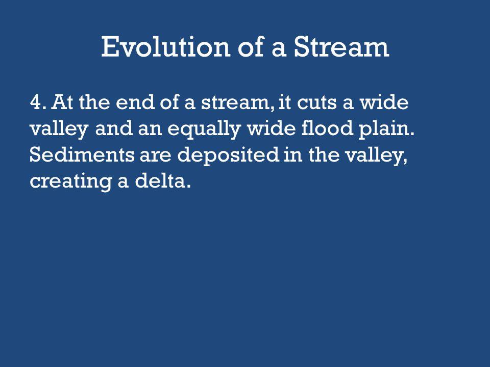 Evolution of a Stream